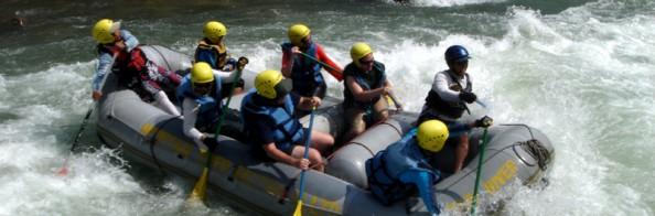Water Rafting in Nepal